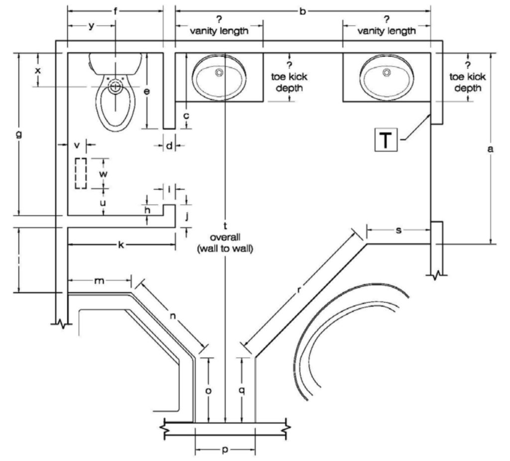How To Measure For Nuheat Mats Knowledge Center Wall Schematic Engineering Diagram Measuring Curves And Angles Mat